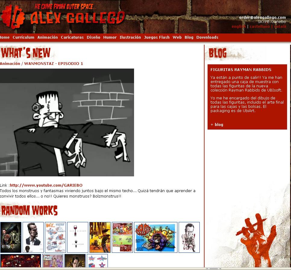 Programación web disseny by Alex Gallego