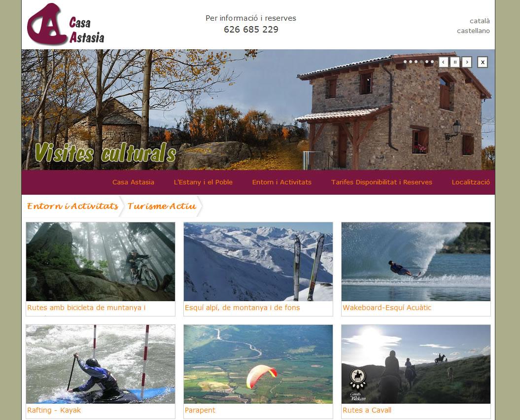 Casa Rural de Lloguer per turisme Vacacional i de cap de setmana a montcortes