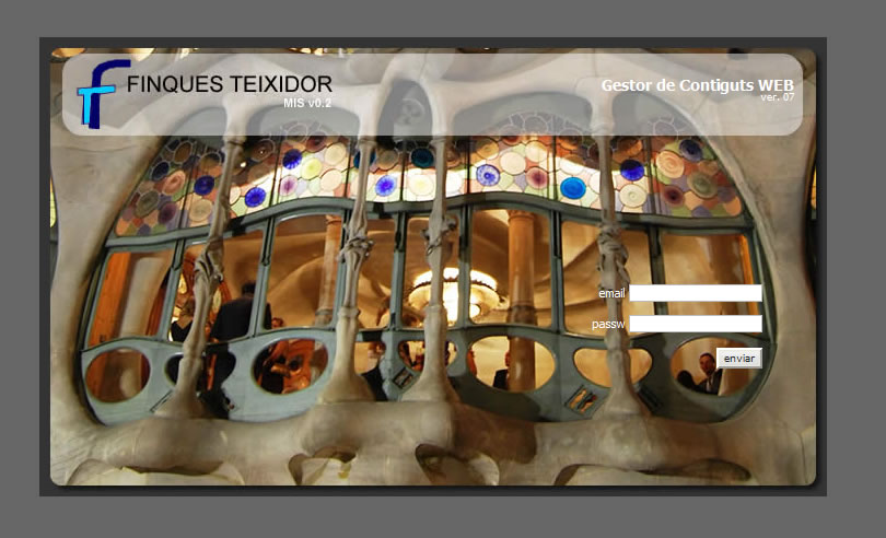 Gestió Clients i Comercials per Finques Teixidor
