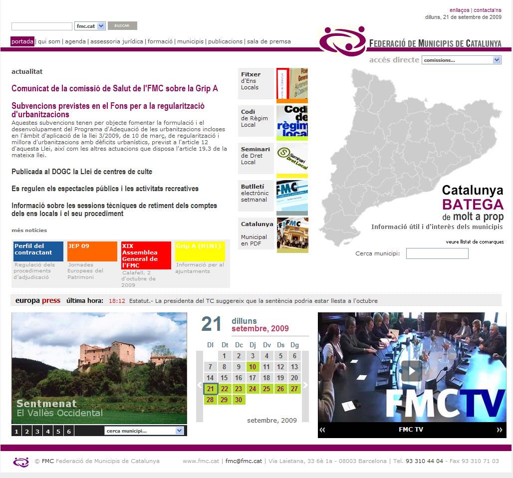 Federació de Municipis Catatalunya