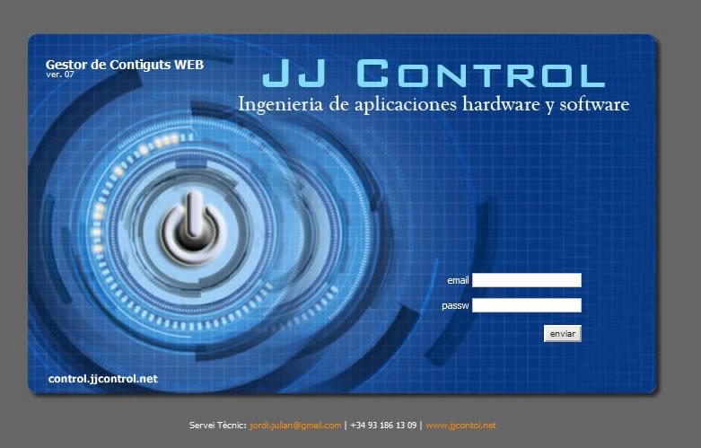 JJControl - Licencias