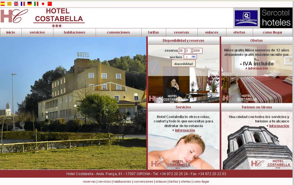 Hotel girona - Costabella
