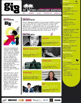 Live Music Agenda - Barcelona -Revista Digital Mensual