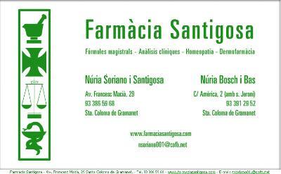 FARMACIA SANTIGOSA
