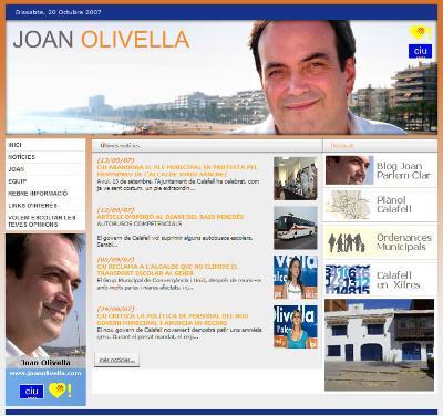 Joan Olivella - CIU Calafell