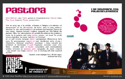 PALAU DE LA MUSICA 2005