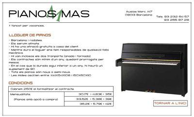 PIANOS MAS