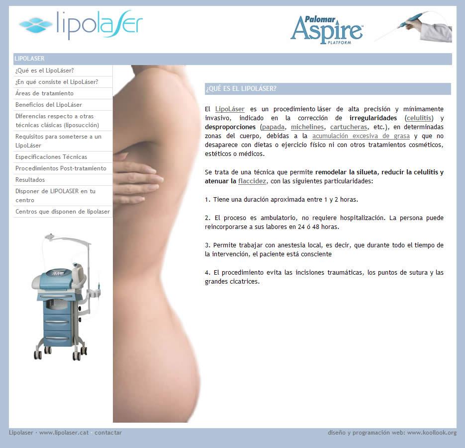 Lipolaser - liposucción